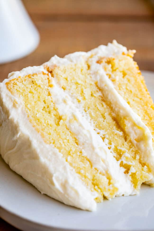 The Best Homemade White Cake Recipe Of Your Life The Food Charlatan