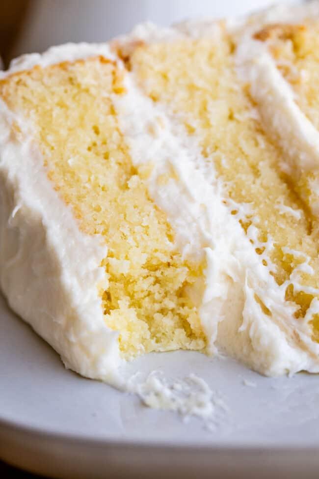 homemade white cake recipe