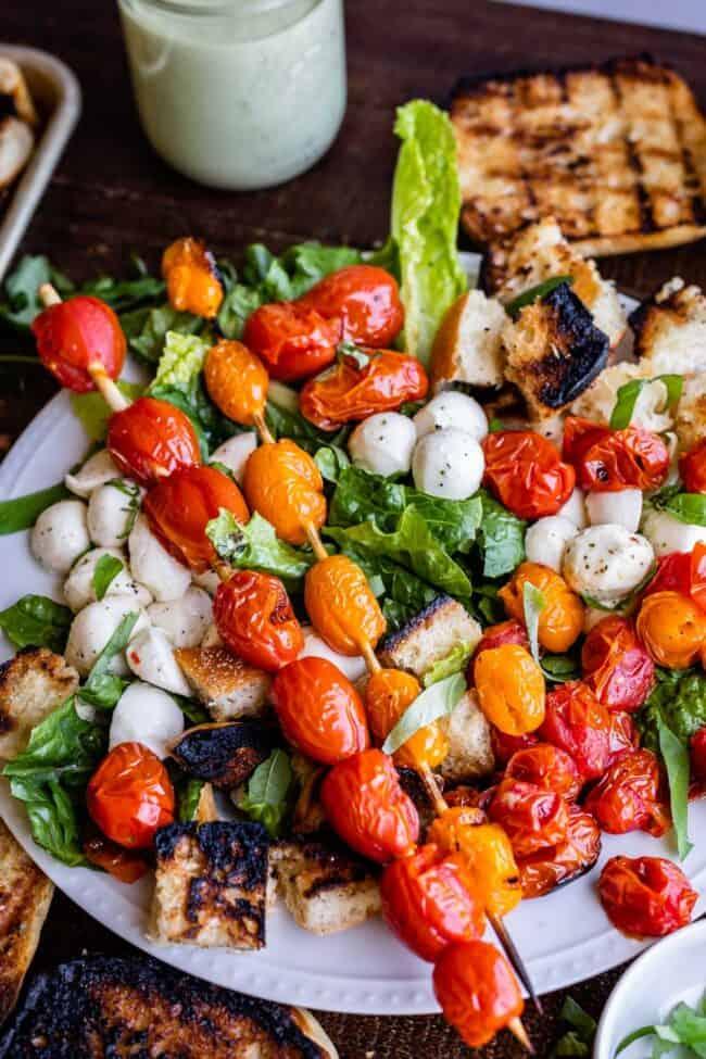 fresh mozzarella salad