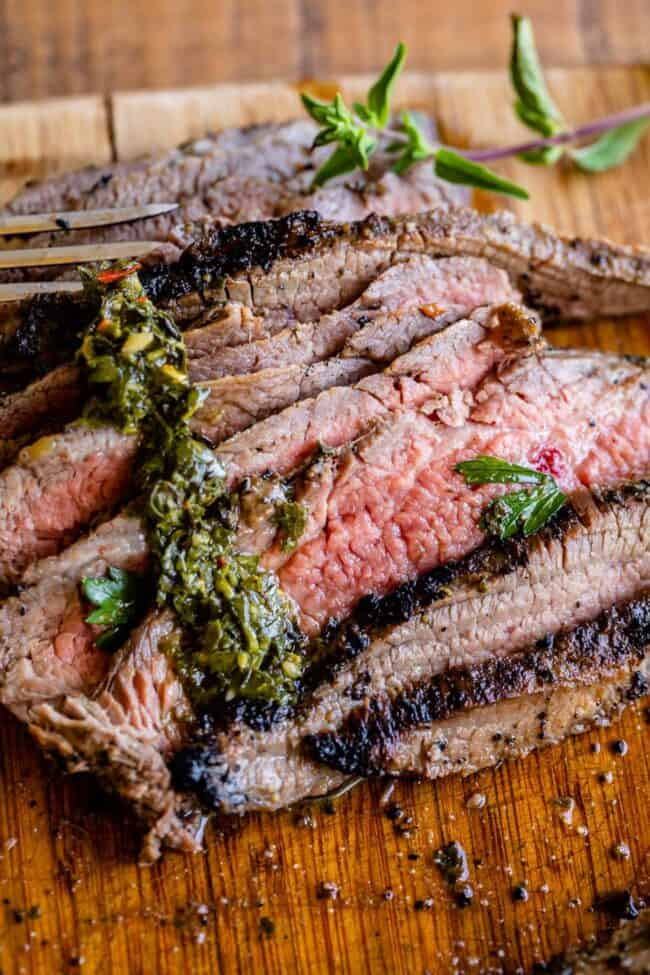 cooking flank steak