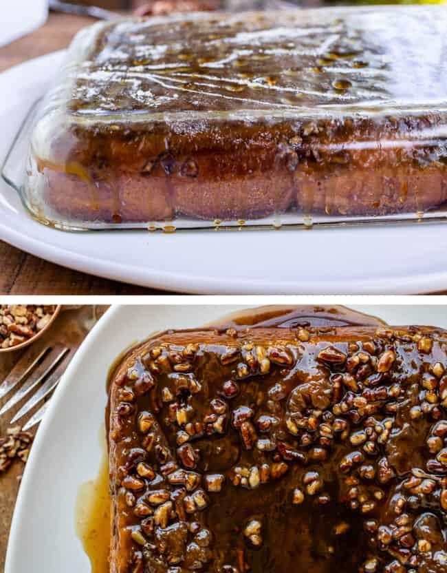 caramel pecan rolls
