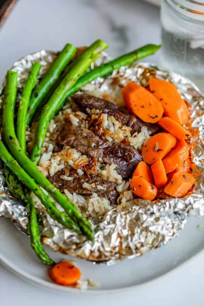 foil packet dinners