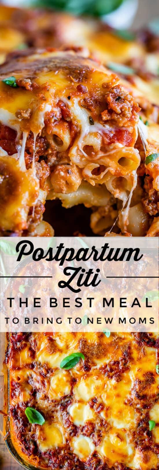 The Best Baked Ziti Postpartum Ziti The Food Charlatan