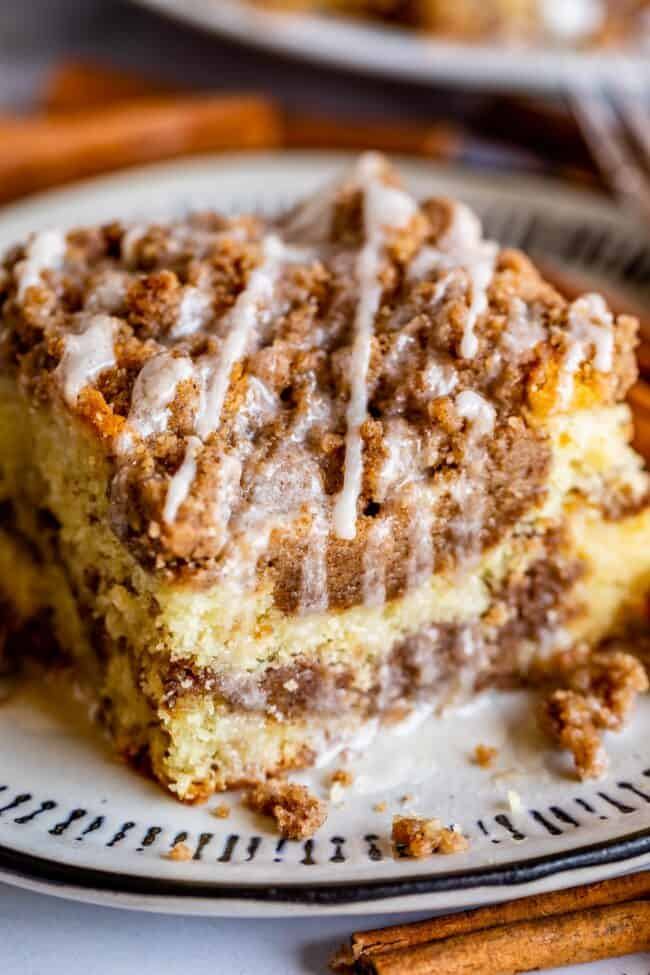 Sour Cream Coffee Cake With A Ton Of Streusel The Food Charlatan