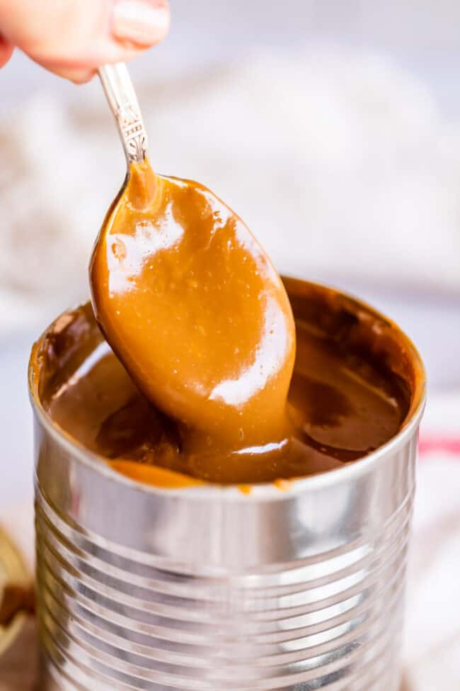 sweetened condensed milk caramel