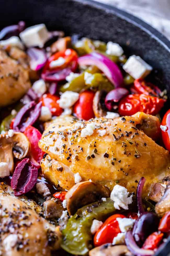 greek chicken thighs