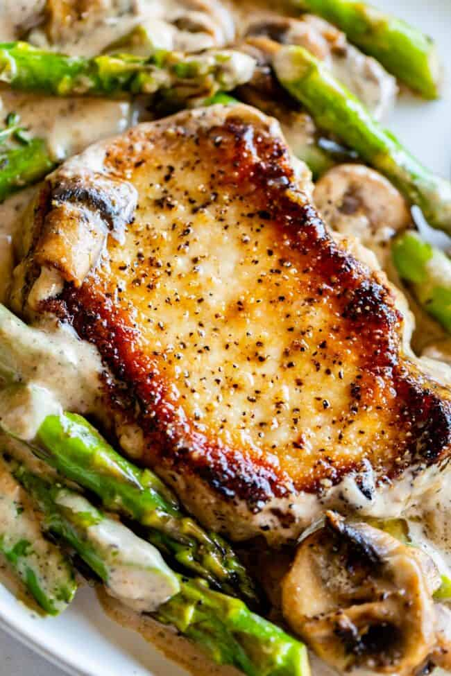 pan seared boneless pork chops