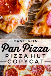 pan pizza recipe