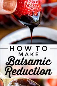 balsamic reduction recipe