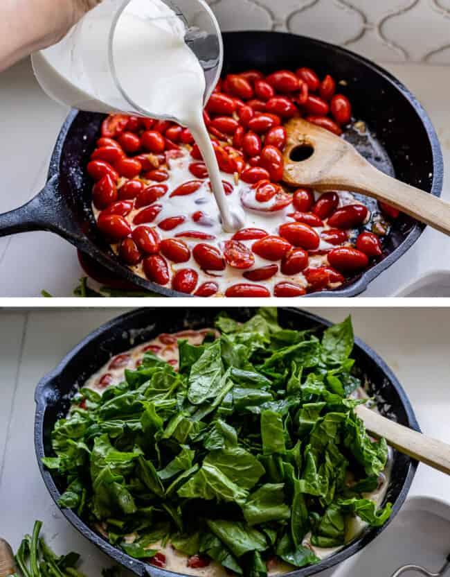 how to make tuscan salmon