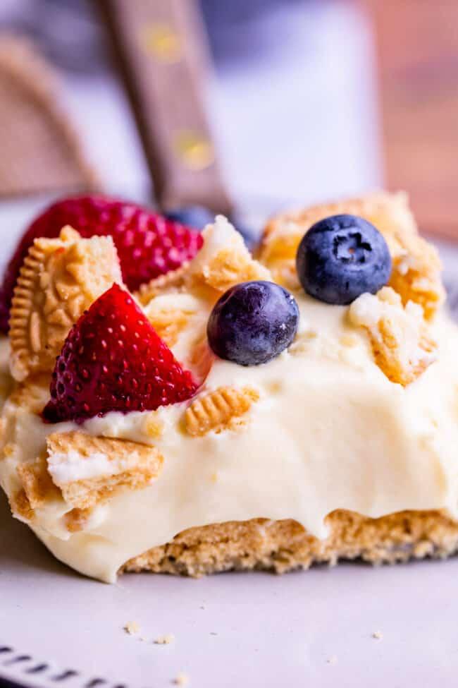 patriotic golden oreo dessert