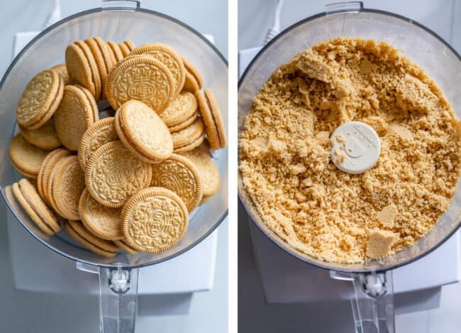 how to make crust for golden oreo dessert