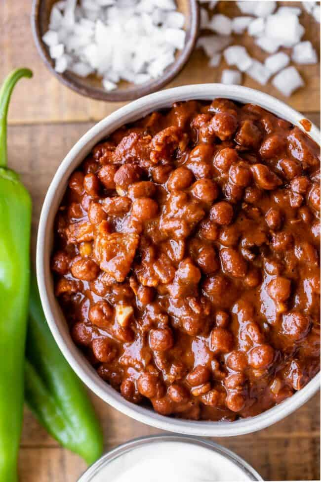 pinquito beans recipe with anaheim peppers