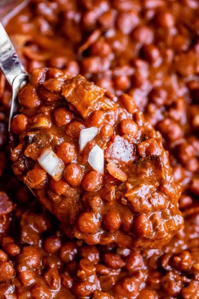 spoonful of santa maria beans