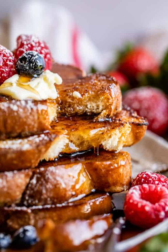how to make french toast thick and fluffy