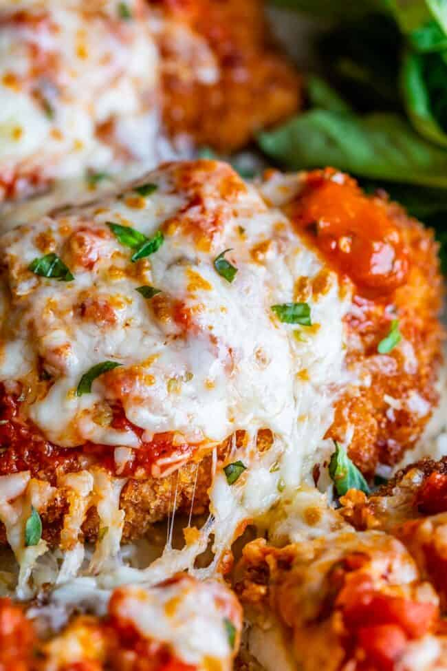 Ultra Crispy Chicken Parmesan The Food Charlatan