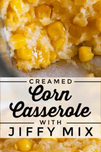 baked creamed corn casserole