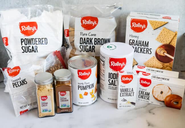 products from Raley's private label lined up with white background
