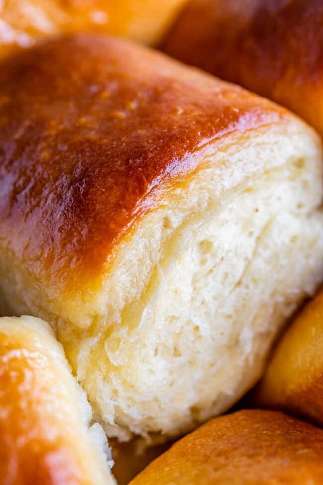 Soft fluffy roll