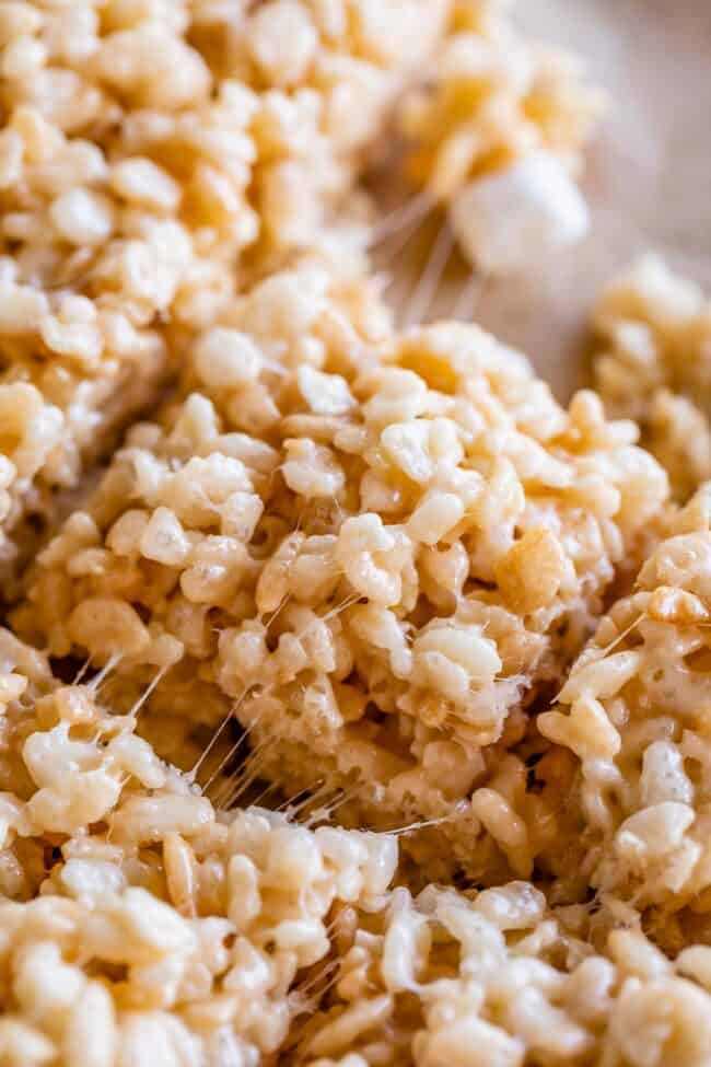 the best rice krispie treats with marshmallow stretch