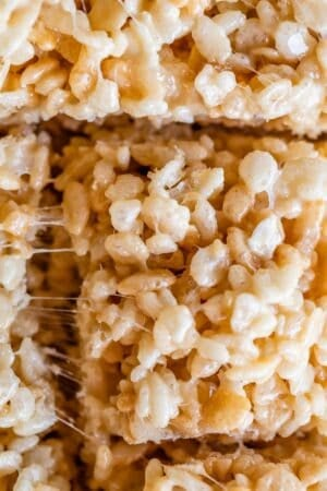 homemade rice krispie treats