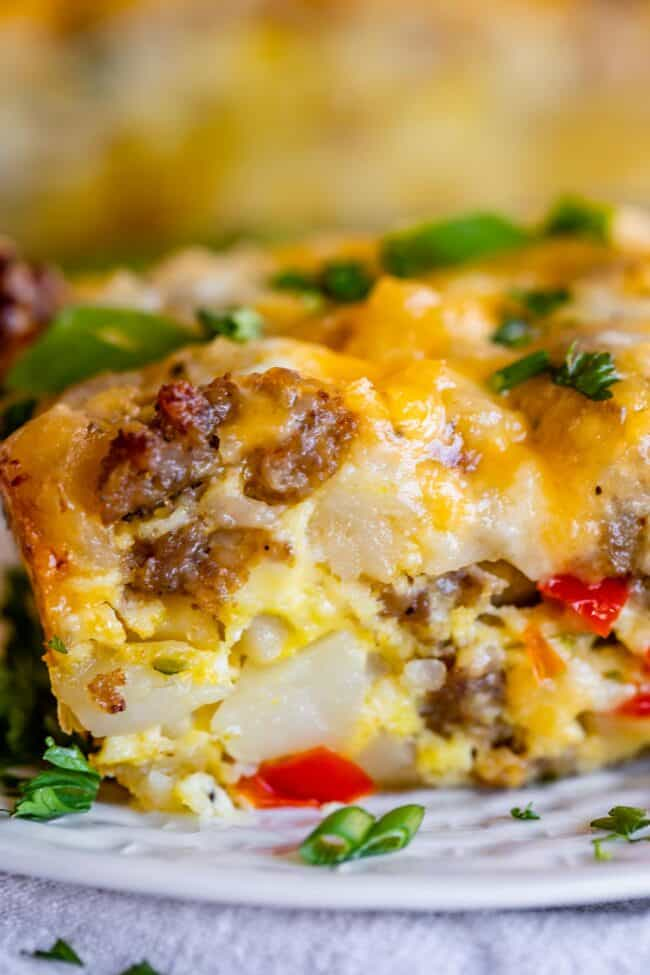 breakfast casserole with sausage and hashbrowns