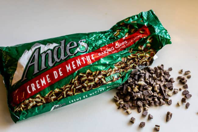 10 ounce bag of andes baking chips