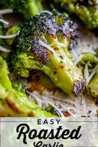 how to make oven roasted broccoli on a sheet pan with cheese