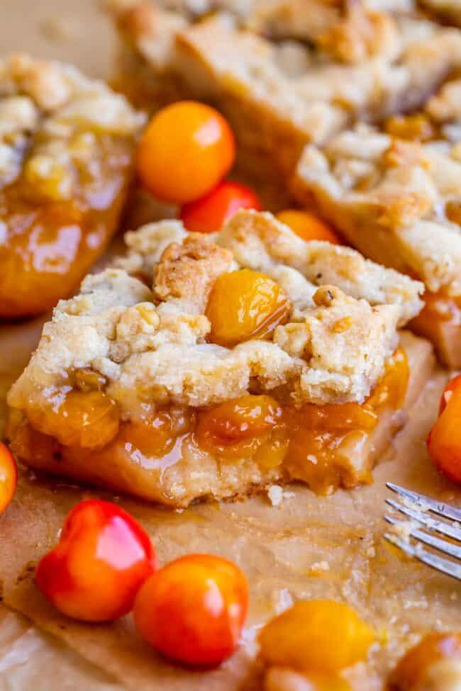rainier cherry recipes with bite taken out
